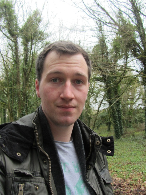One of the seldom photos of me on this blog!